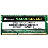 Corsair 4 GB DDR3 Laptop Memory CMSO4GX3M1A1333C9 for $19.84 + Shipping