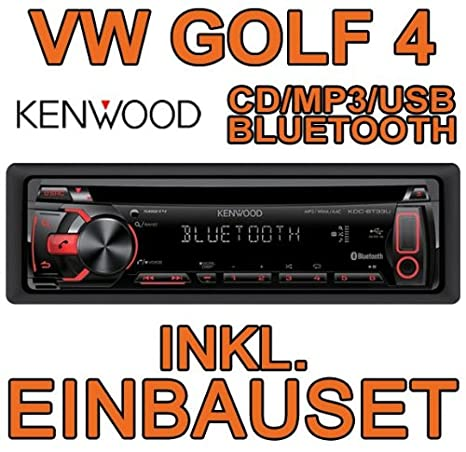 VW golf 4/bora kenwood kDC-bT33U kit de montage