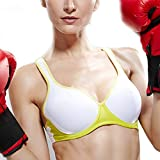 Yvette Underwire/Padded Sports Bra-Women/Racerback/Adjustable/Sexy Sports Bra