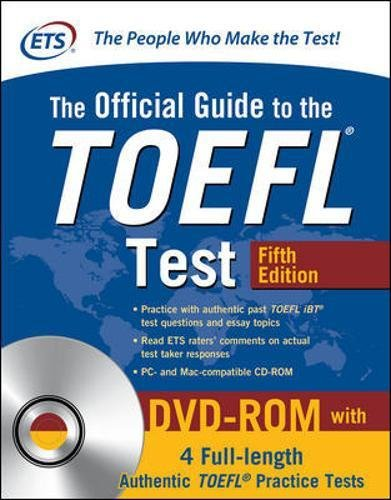 The Official Guide to the TOEFL Test with DVD-ROM, Fifth Edition [Educational Testing Service] (Tapa Blanda)