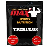 240 Tribulus Terrestris Capsules - Supports Muscle Building - by Muscle Power Max FREE 1ST CLASS FAST POSTAGEby Muscle Power Max�