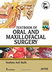 Textbook of Oral and Maxillofacial Surgery with 2 Interactive DVD - ROM