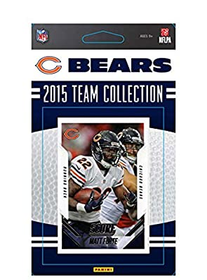 Chicago Bears 2015 Score Factory Sealed NFL Football Sealed 14 Card Team Set Including Jay Cutler Matt Forte Kevin White Rookie Plus