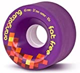 Orangatang Fat Free 83a, 65mm Longboard Wheels ~Set of 4~ By Loadedboards