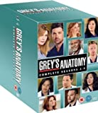The Complete Grey's Anatomy TV Series Complete DVD [54 Discs] Collection Box Set: Season 1, 2, 3, 4, 5, 6, 7, 8 and 9 + Extras
