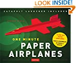 One Minute Paper Airplanes Kit: 12 Po...