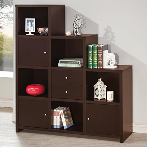 Coaster Home Furnishings 801170 Bookcase Cappuccino
