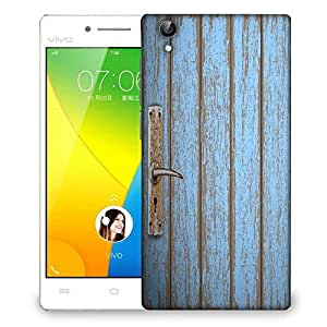 Snoogg old wooden door Designer Protective Back Case Cover For VIVO Y51 L