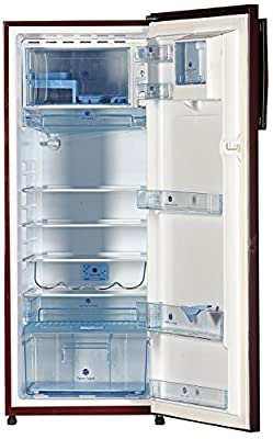 Kelvinator KO255LT-PR Direct-cool Single-door Refrigerator (245 Ltrs, 5 Star Rating, Pastel Red)
