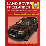 Land Rover Freelander Petrol and Diesel: 1997 to 2003 (Haynes Service & Repair Manuals)
