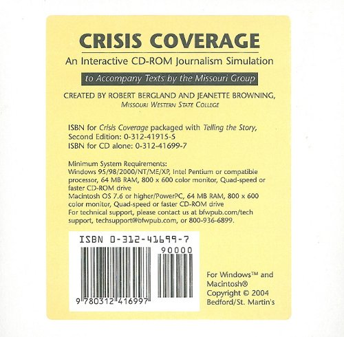 Crisis Coverage - An Interactive CD-ROM Journalism Simulation