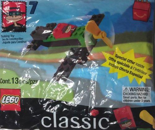 McDonalds Lego Classics #7 Hamburgler Airplane 1999 - 1