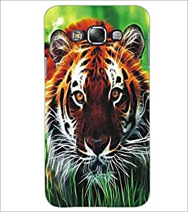 SAMSUNG GALAXY J7 TIGER Designer Back Cover Case By PRINTSWAG