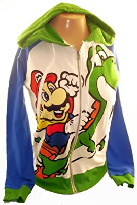 Super Mario Bros Girls Hoodie Yoshi Hoodie