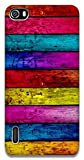 The Racoon Lean Pastel Wood hard plastic printed back case / cover for Huawei Honor 6