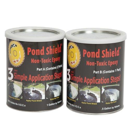 Pond Armor Sku Black Ga Non Toxic Pond Shield Epoxy Paint