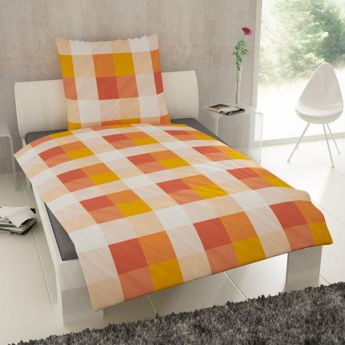 et rea renforc baumwolle bettw sche rian karo kariert. Black Bedroom Furniture Sets. Home Design Ideas