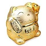 幸せ運ぶ 招き猫 貯金箱 金運 風水 開運 縁起物 開店祝い 贈り物 お祝い 新築 就職 還暦 結婚 プレゼント
