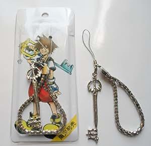 "3"" Kingdom Hearts Metal Key Blade Phone Charm Strap #10 ~Cosplay~"