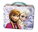 Disney Frozen Anna & Elsa Embossed Tin Lunch Box (assorted styles, single item)