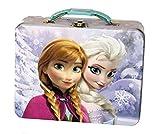 Disney Frozen Anna & Elsa Embossed Tin Lunch Box (assorted styles, single item)