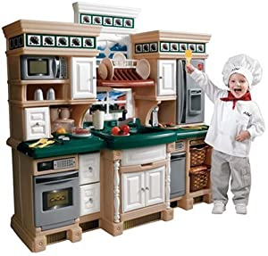 Step2 step 2 lifestyle deluxe kitchen toys for Kitchen set wala game