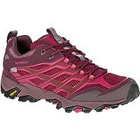 Merrell Women's Moab FST Waterproof Sport Shoes (Beet Red)