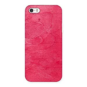 Enticing Pink Wood Work Multicolor Back Case Cover for iPhone 5 5S
