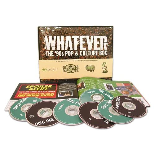 Various Artists-Whatever: The '90s Pop and Culture Box