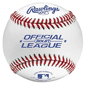 Rawlings Official League Competition Grade Baseball (One Dozen)