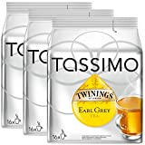 Bosch Tassimo 'Twinings Earl Grey Tea' 16 T Disc Coffee Machine Capsules (Pack of 3)