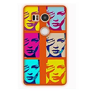 Happoz Google Nexus 5x Cases Back Cover Mobile Pouches Shell Hard Plastic Graphic Armour Premium Printed Designer Cartoon Girl 3D Funky Fancy Slim Graffiti Imported Cute Colurful Stylish Boys D378