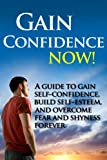 img - for Gain Confidence NOW! - A Guide To Gain Self-Confidence, Build Self-Esteem, And Overcoming Fear And Shyness Forever (gain confidence, confidence, self-esteem) book / textbook / text book
