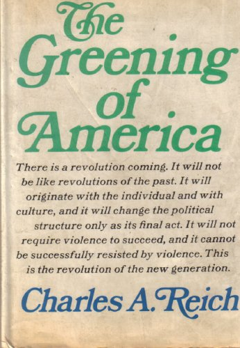 Image for The Greening of America