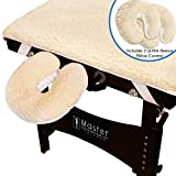 Master Massage New Ultra Fleece Pad Sheet Set for Massage Table