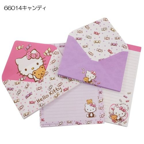 Hello Kitty [letter] envelope stationery / Ribbon candy Sanrio [candy]
