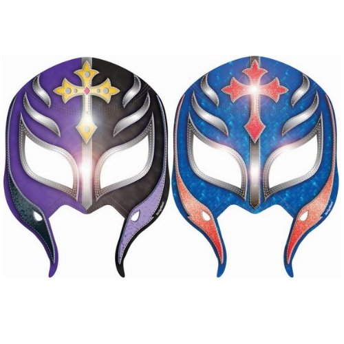 WWE Wrestling Paper Mask (8ct) (Wwe Supplies compare prices)
