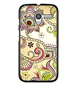 PRINTSWAG FLOWER ART Designer Back Cover Case for MOTOROLA MOTO X
