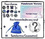 Timeline Trinketts Rhinestone Birthstone Charm Bracelet Beads Fits Pandora Jewelry - Sapphire Blue