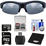Coleman Vision HD G3HD-SUN 1080p Weatherproof Action Polarized Sunglasses with 32GB Card + Reader + Anti-Fog Cloth + Kit
