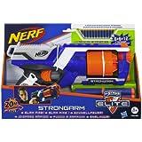 Nerf - N-Strike Elite Strongarm pistola con doble dardos (Hasbro A3182E24)