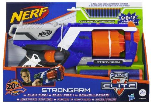 Nerf - N-Strike Elite Strongarm lanzadardos doble (Hasbro A3182E24)