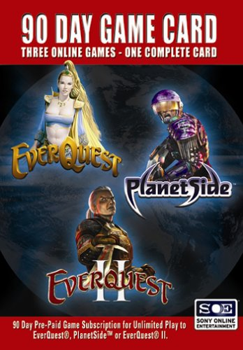 90 Day Game Time Card (Everquest, Everquest II,