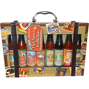 Datl Do It Global Collection Hot Sauce Gift Set 8 Piece