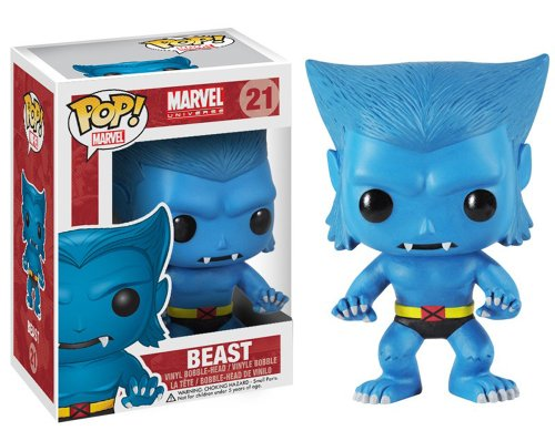 Funko POP Marvel Beast Bobble Figure
