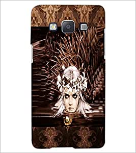 PrintDhaba Crying Girl Face D-3028 Back Case Cover for SAMSUNG GALAXY A5 (Multi-Coloured)
