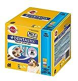 Image of Pedigree DentaStix Hundesnack für kleine Hunde (5-10kg), Zahnpflege-Snack mit Huhn und Rind, 1 Packung je 56 Stück (1 x 880 g)