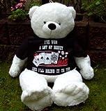 5133QmQam5L. SL160  Salve 41532A130   Pokersoftbär mit T Shirt weiß   Größe 130 cm