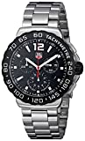 TAG Heuer Men's CAU1110.BA0858 Formula 1 Black Dial Chronograph Steel Watch thumbnail