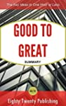Good To Great by Jim Collins: Summary...